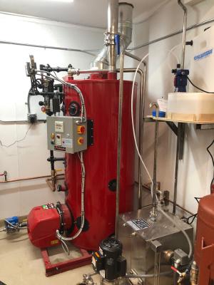 Brewery Boiler Room