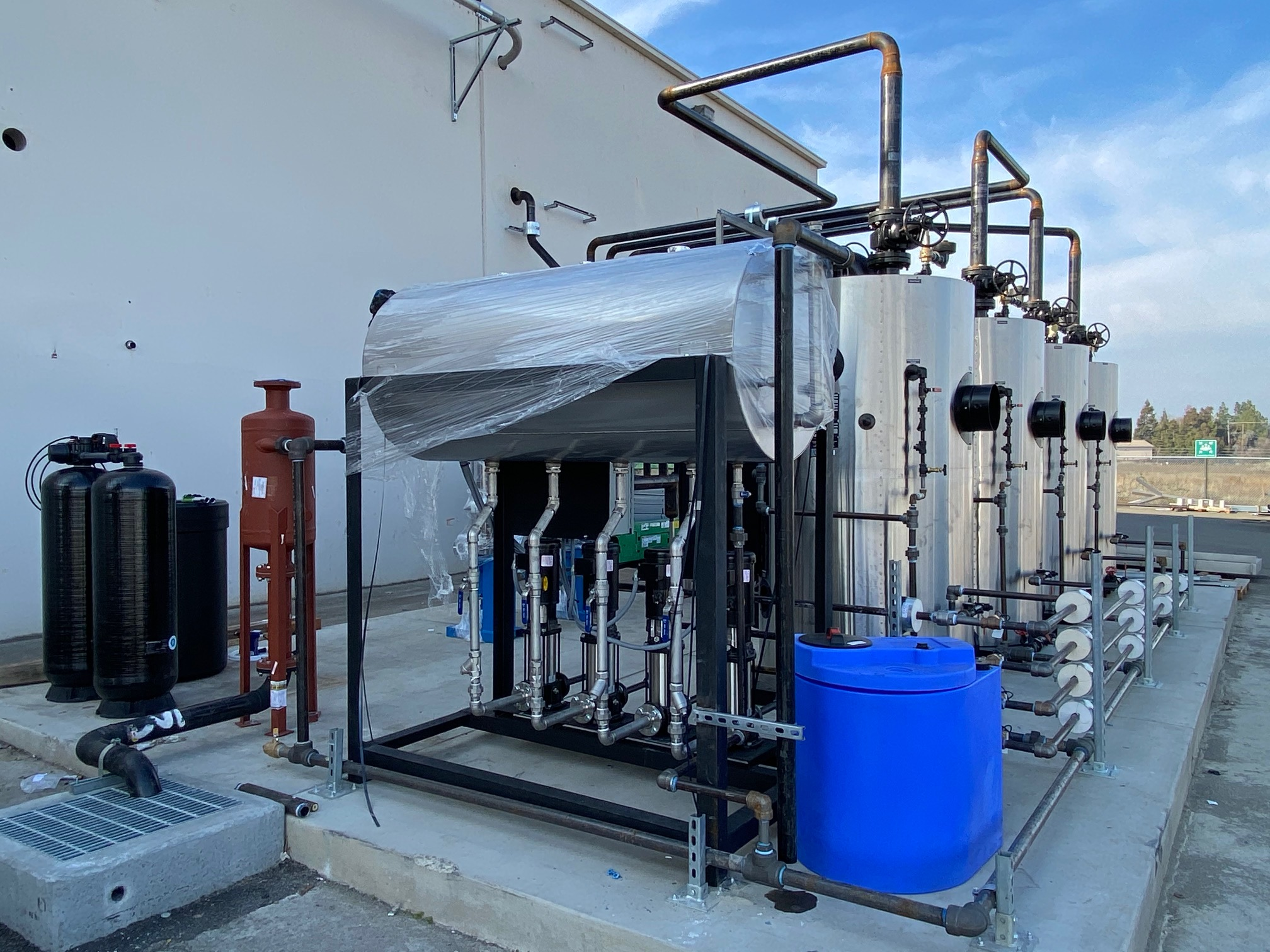 types of boilers used in food processing